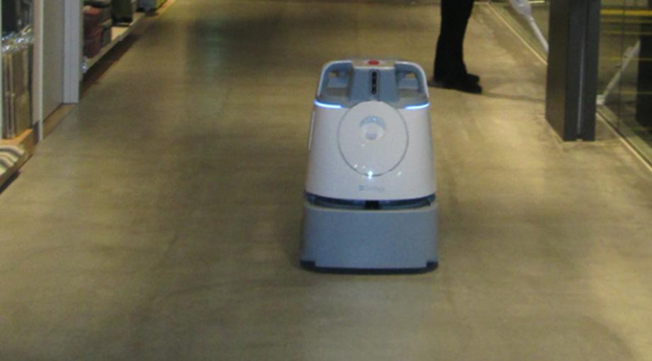 自走式清掃ロボット