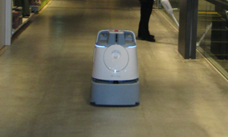 自走式清掃ロボット導入